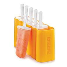 image of Zoku® Rectangle Pops Mold in Orange