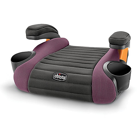 Chicco GoFit Backless Booster Seat in Grape Bed Bath