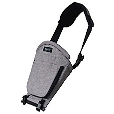 image of MiaMily HIPSTER™ PLUS 3D Single Shoulder Accessory in Light Grey