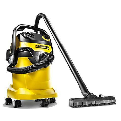 karcher wd5 wet dry vacuum in yellow black bed bath. Black Bedroom Furniture Sets. Home Design Ideas