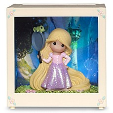 image of Precious Moments® Disney® Rapunzel LED Shadow Box