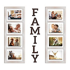 image of Wallverbs™ Family 8-Piece Picture Frame Set