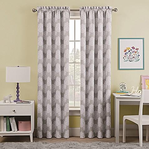 Waverly Kids Airwaves Rod Pocket Room Darkening Window Curtain Panel Buybuy Baby