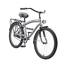 image of Body Glove Greystone 24-Inch Boy's Cruiser Bicycle in Grey