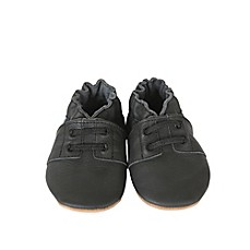 image of Robeez® Soft Soles™ Special Occasion Shoe in Black