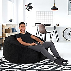 image of big round lounger bean bag chairs   futon chairs   bean bag loungers   bed bath  u0026 beyond  rh   bedbathandbeyond
