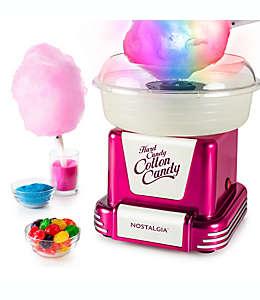 Nostalgia™ Electrics Máquina de algodón de azúcar en frambuesa