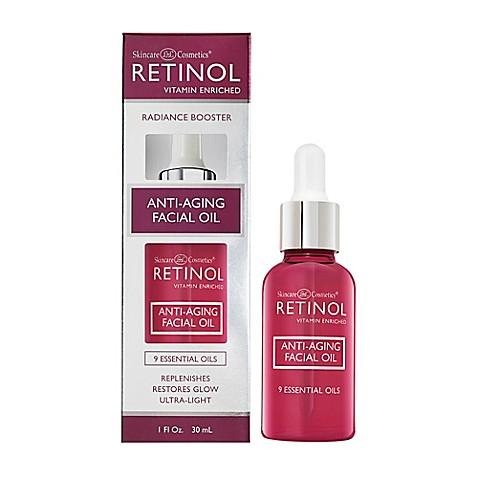 Retinol Anti-Aging Facial Oil 1 oz (Pack of 3) Lip Balm - Blue Raspberry