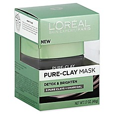 image of L'Oréal® Skin Expert 1.7 oz. Detox & Brighten Pure-Clay Mask