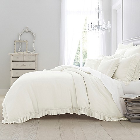 Wamsutta 174 Vintage Washed Linen Duvet Cover Bed Bath Amp Beyond