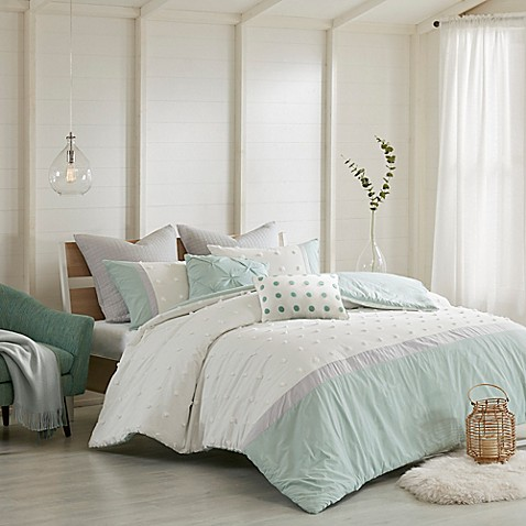 Urban Habitat Myla Duvet Cover Set in Ivory - Bed Bath & Beyond