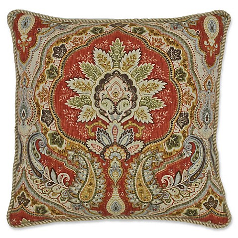 Rose Tree Decorative Pillows : Rose Tree Harrogate Square Throw Pillow - Bed Bath & Beyond
