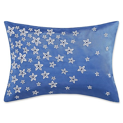 Buy Charisma Home Alfresco Rectangle Throw Pillow in Blue from Bed Bath & Beyond