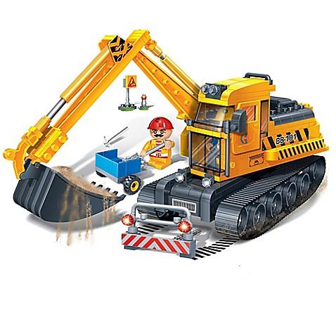 BanBao Bucket Digger Building Set