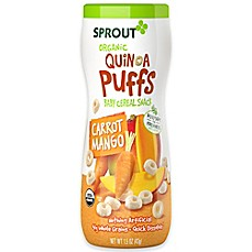 image of Sprout® 1.5 oz. Organic Carrot Mango Quinoa Puffs
