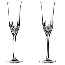 image of Waterford® Lismore Essence Toasting Flutes (Set of 2)
