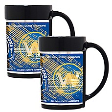 image of NBA Golden State Warriors 2017 NBA Finals Champion Coffee Mugs (Set of 2)