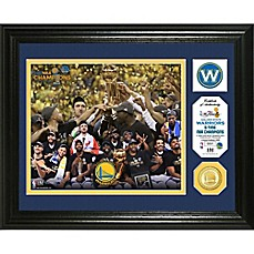 image of NBA Golden State Warriors 2017 NBA Finals Champion Single Coin Photo Mint