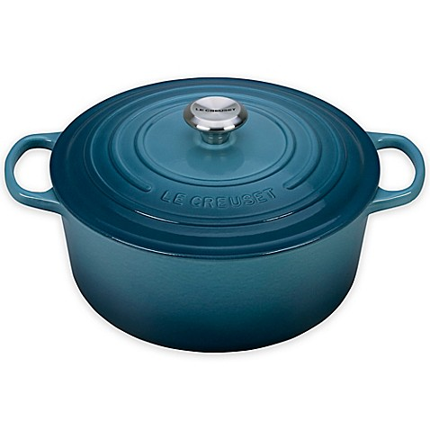 buy le creuset signature qt round dutch oven in