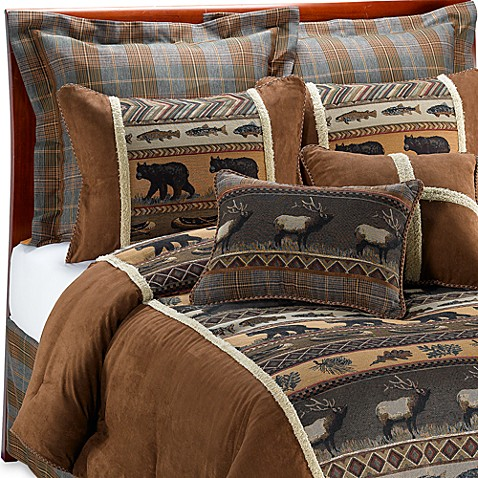 croscill caribou comforter set bed bath beyond. Black Bedroom Furniture Sets. Home Design Ideas