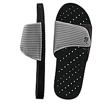 image of Men's Slide AquaFlops Shower Shoes in Grey/Black