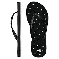 image of Women's Star AquaFlops Shower Shoes in Black