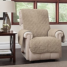 Image Of Puff Recliner And Wingback Chair Protector