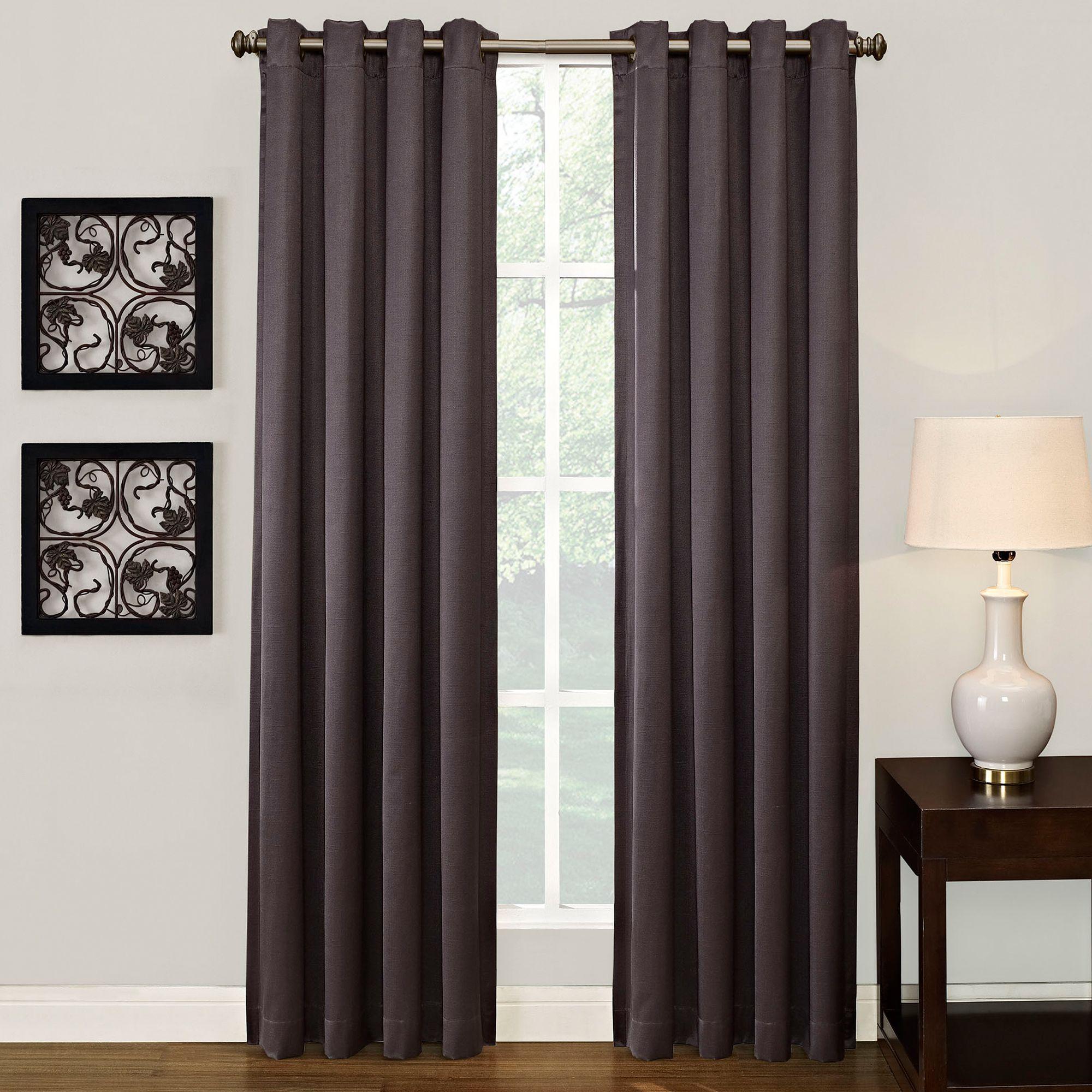 ashton grommet top room darkening window curtain panel bed bath ashton grommet top room darkening window curtain panel