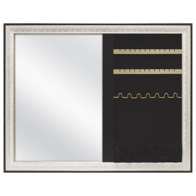 Champagne Lace Mirror Jewelry Organizer Bed Bath Beyond