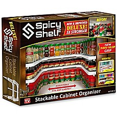 image of spicy shelf deluxe stackable shelf