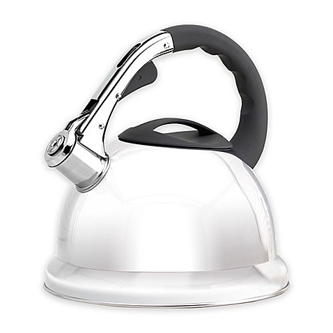 Epicurious 2.85 qt. Stainless Steel Whistling Tea Kettle