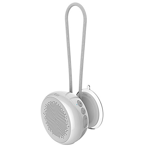 iLuv Aud Shower Bluetooth Speaker in White