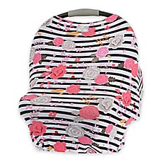 image of Itzy Ritzy® Mom Boss™ Multi-Use Cover in Floral Stripe