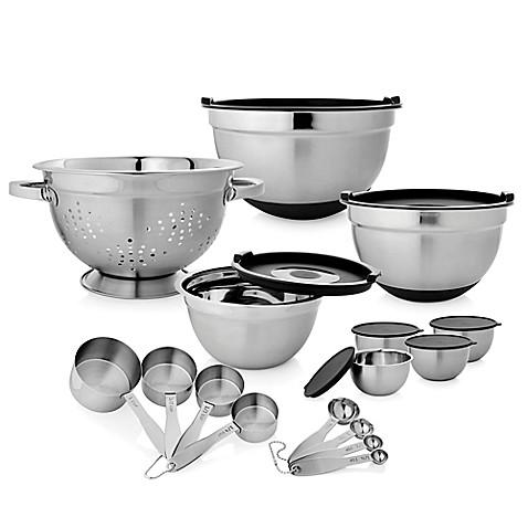 23 Piece Stainless Steel Kitchen Set