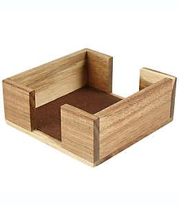Base para portavasos de madera de acacia Thirstystone®