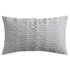 image of Isaac Mizrahi Home Whitby Oblong Throw Pillow in Grey