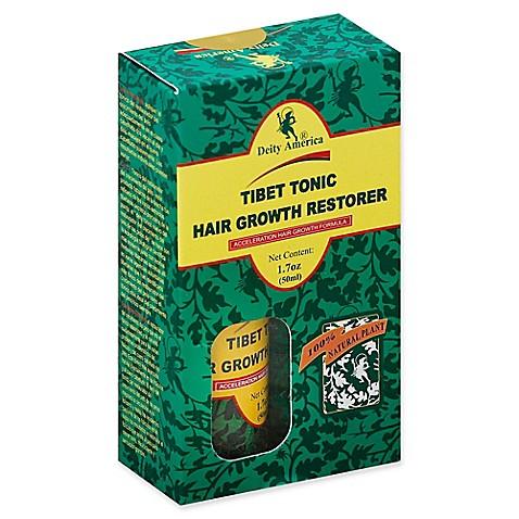Deity of Hair® 12.12 oz. Tibet Tonic Hair Growth Restorer - Bed Bath ...