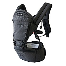 image of MiaMily Hipster Plus 3D baby carrier in Charcoal