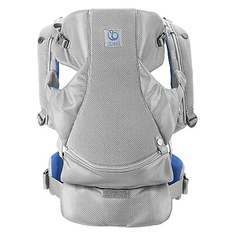 buy stokke mycarrier 3 in 1 front and back mesh carrier in marina from bed bath beyond. Black Bedroom Furniture Sets. Home Design Ideas