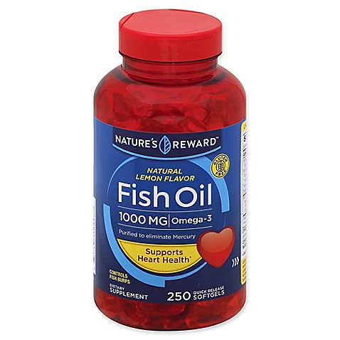 Buy nature 39 s reward 80 count 1000 mg fish oil quick for Fish oil daily dose