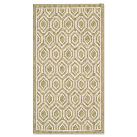 Buy safavieh courtyard 2 foot 7 inch x 5 foot lauryn indoor outdoor rug in green beige from bed - Tips to consider when buying an outdoor rug ...