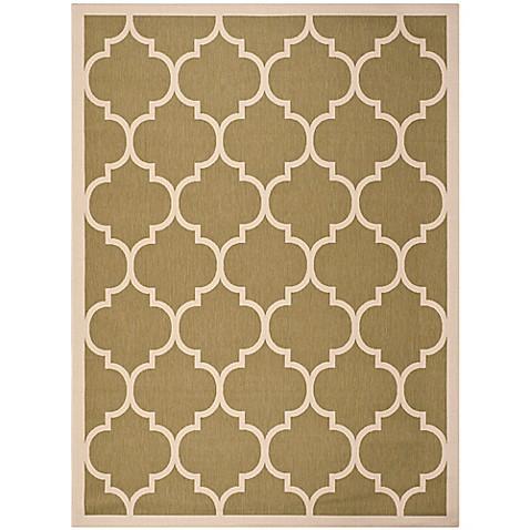 Buy safavieh courtyard 8 foot x 11 foot jessa indoor outdoor rug in green beige from bed bath - Tips to consider when buying an outdoor rug ...