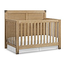image of baby relax ridgeline 4in1 convertible crib in natural