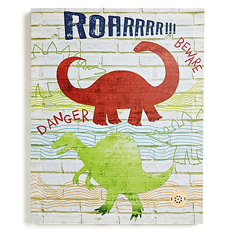 Imagine Fun Dino Doodles Canvas Wall Art - Bed Bath & Beyond