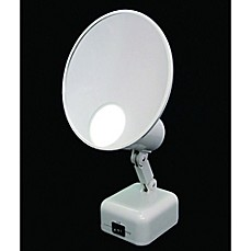image of Floxite 15x Supervision Home and Travel Makeup Mirror