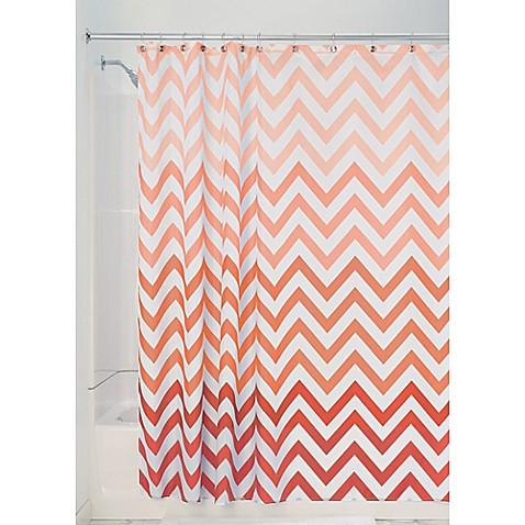 InterDesign® Ombre Shower Curtain - Bed Bath & Beyond