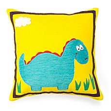 image of Amity Home Dino Square Throw Pillow