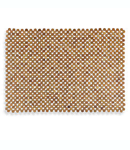 Tapete de bambú para baño diseño Mahogany