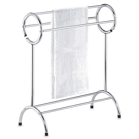Three-Tier Circle Top Free Standing Towel Stand