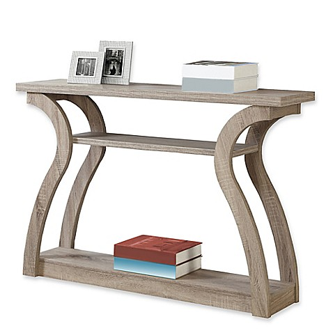monarch specialties 47-inch hall console table - bed bath & beyond